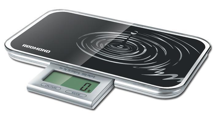 Redmond RS-721, Black весы кухонные