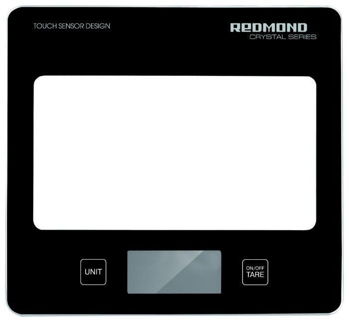 Redmond RS-724, Black весы кухонные