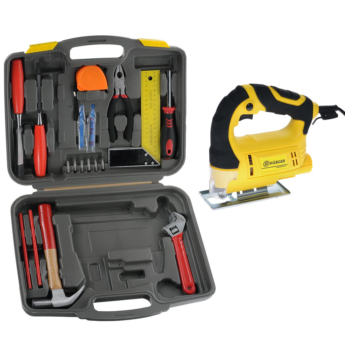 Электролобзик Harger WT02928-DK + набор инструментов в подарокWT02928-DK