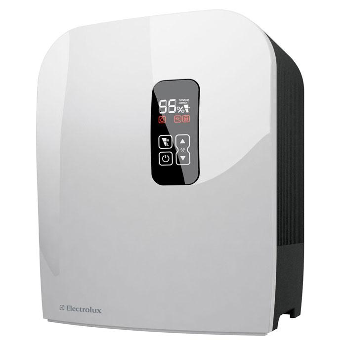 Electrolux 7515D-EHAW мойка воздухаEHAW - 7515DElectrolux 7515D-EHAW - мойка воздуха, которая эффективно увлажняет и очищает воздух в помещении создавая оптимальный и комфортный микроклимат для человека. За этой моделью не требуется специального ухода - вам просто нужно время от времени добавлять воду в бак (объем 7 литров). Не нужно никаких дополнительных фильтров и других расходных материалов. Мойка воздуха имеет 2 мощности работы и удобный LED-дисплей с сенсорным управлением. Благодаря серебряному ионизирующему стержню вода очищается от грибков и плесени, поэтому воздух становится чистым и свежим. Автоматическое затемнение дисплея в зависимости от освещенности в помещении Индикатор чистки прибора Бесшумная работа Встроенный электронный гигростат Система очистки воды от бактерий