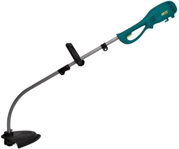 Электрический триммер FIT ET-120080663Электрический триммер FIT - легкий инструмент, при помощи которого можно подравнять траву на приусадебном участке, возле садового домика. В качестве режущего элемента используется леска или диск. В комплект входит: Руководство по эксплуатации, триммер, дополнительная рукоятка, леска, шпулька, диск-нож, защитный кожух, плечевой ремень. Характеристики: Материал: металл, пластик, резина. Толщина лески: 2 мм. Размер триммера: 182 см х 33,5 см. Размер упаковки: 92 см х 20 см х 15 см. Гарантия1 год.