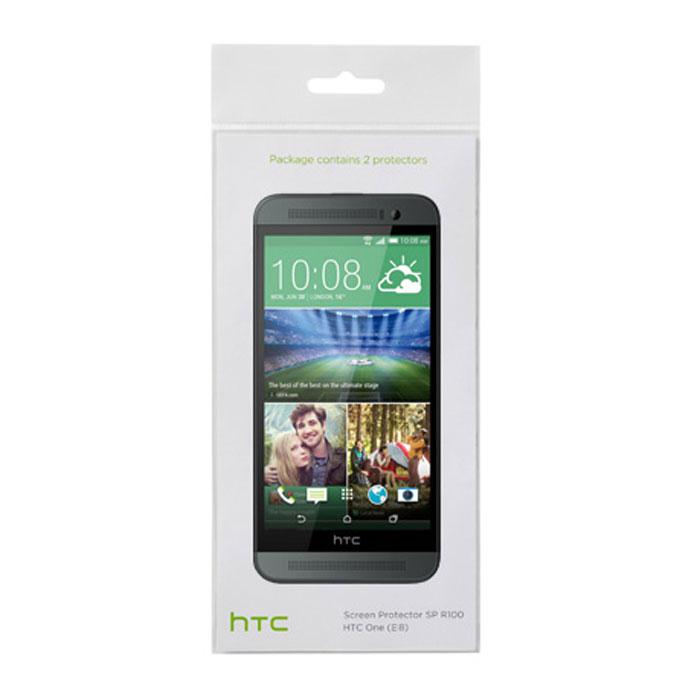 HTC SP R140 защитная пленка для One Ace (E8)22410Оригинальная защитная пленка для экрана смартфона HTC One Ace (E8). Благодаря использованию высококачественного материала пленка легко наклеивается, плотно прилегает, имеет высокую прозрачность и устойчивость к механическим воздействиям. Потребительские свойства и эргономика сенсорного экрана при этом не ухудшаются. В комплект входят 2 пленки.