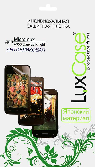 Luxcase защитная пленка для Micromax A350 Canvas Knight, антибликовая