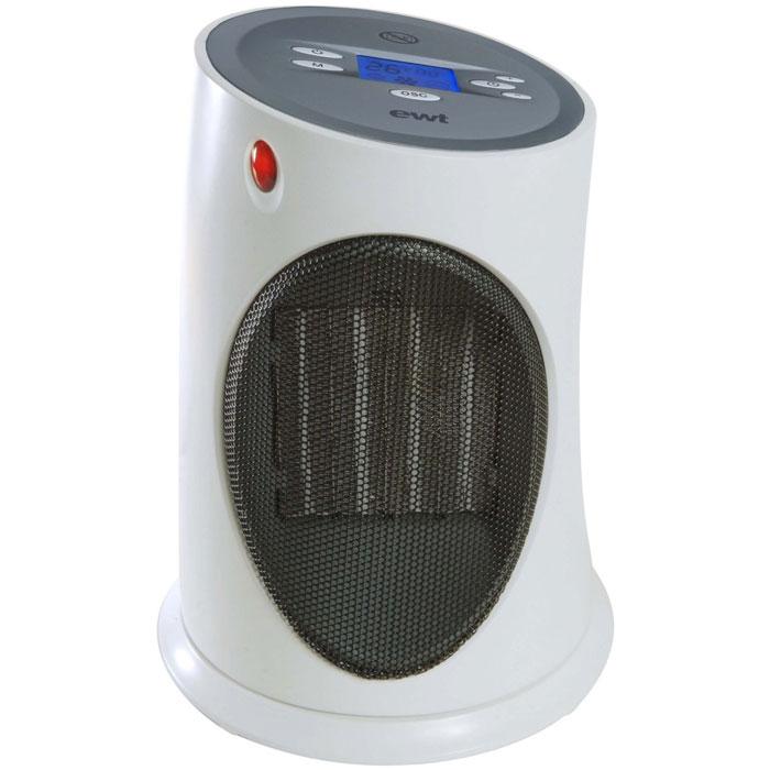 EWT C 120LCD керамический обогревательC 120LCDТепловентилятор C 120LCD - незаменимый прибор в условиях наступающих холодов. В квартире, офисе или дачном коттедже вы не будете зависеть от капризов погоды. Имеет таймер обратного счета 8 ч. C120LCD оснащен ЖК-дисплеем.