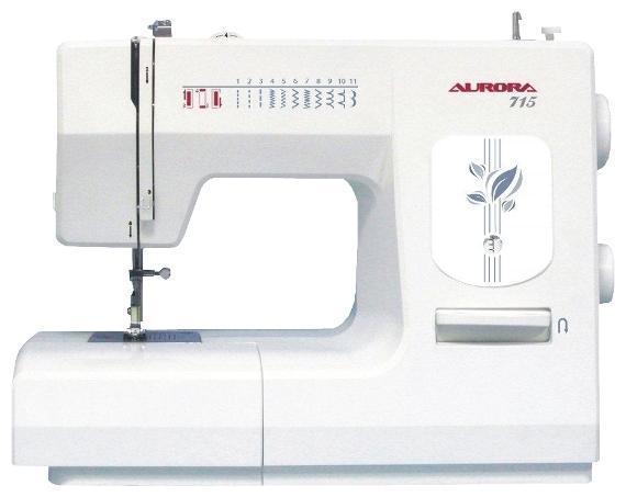 Aurora 715 швейная машина71513 швейных операция, петля полу-автомат. Вертикальный челнок. Регулировка давления лапки на ткань
