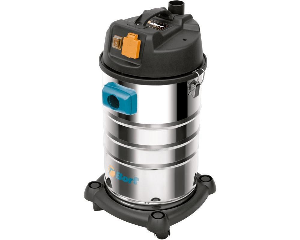 Пылесос для сухой и влажной уборки Bort BSS-1230BSS-1230Отлично может применяться в гараже или небольшой мастерской.