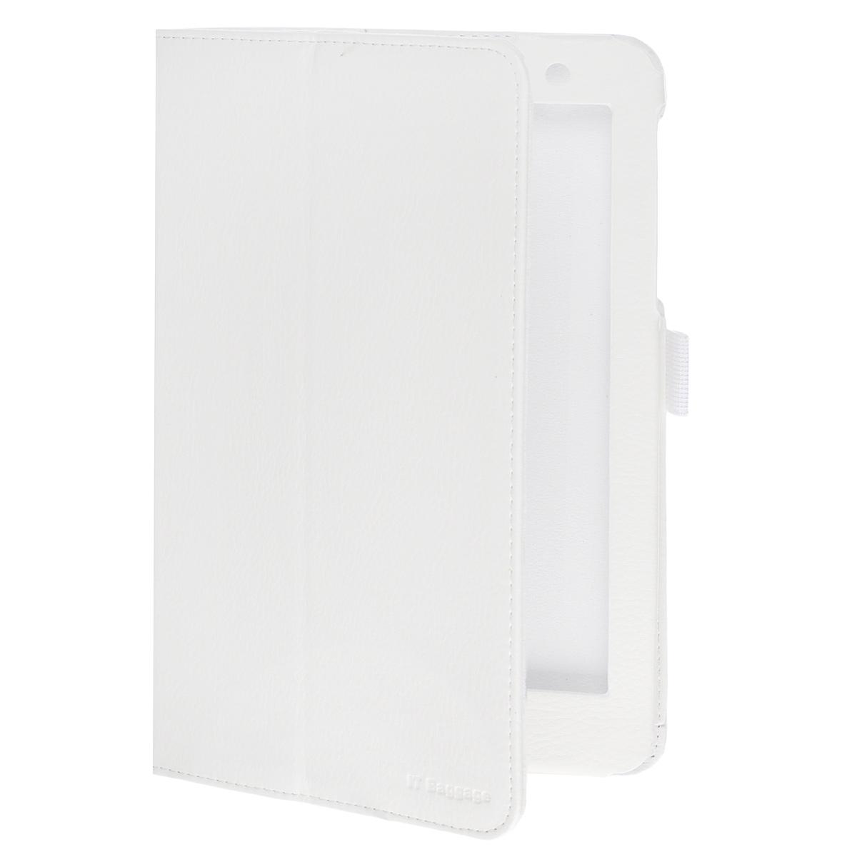 IT Baggage чехол для Lenovo Idea Tab 8 A8-50 (A5500), WhiteITLNA5502-0Чехол IT Baggage для планшета Lenovo Idea Tab 8 A8-50 (A5500) - это стильный и лаконичный аксессуар, позволяющий сохранить планшет в идеальном состоянии. Надежно удерживая технику, обложка защищает корпус и дисплей от появления царапин, налипания пыли. Имеет свободный доступ ко всем разъемам устройства.