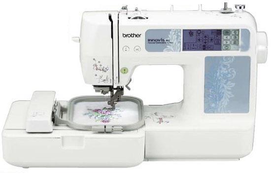 Brother NV-90E швейная машинаNV-90EВышивальная машина, Область вышивания 100 x 100 мм