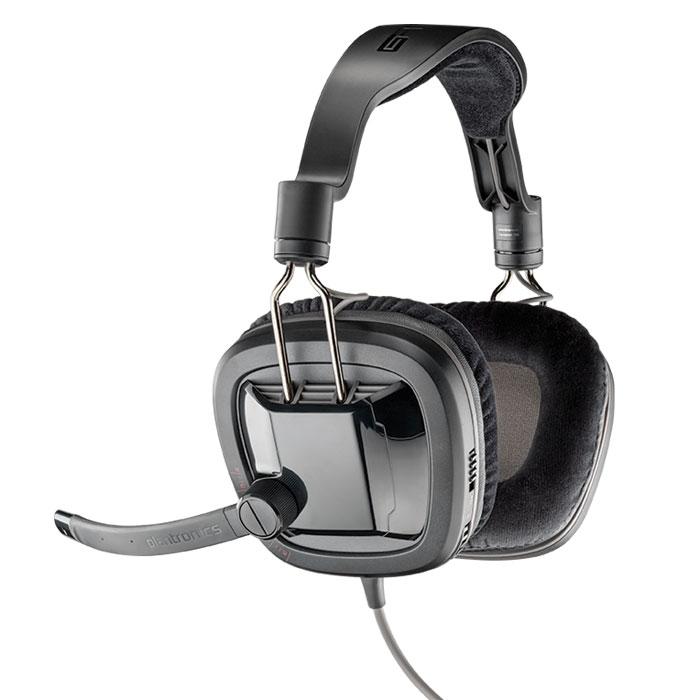 Plantronics GameCom 388, Black игровая гарнитура201260-05Испытайте всю полноту низких частот, ощутите все нюансы звука и будьте уверены в том, что ваши команды четко слышны, с гарнитурой Plantronics GameCom 388 для ПК. Фирменное качество звучания Plantronics гарантирует, что вы услышите все детали игрового аудио. Играйте, смотрите видео, слушайте музыку и делайте многое другое, наслаждаясь комфортом, который обеспечивают чашки наушников и оголовье гарнитуры. Погрузитесь в насыщенный стереозвук с глубокими басами из 40-мм динамиков Встроенные шарнирные соединения позволяют разворачивать чашки наушников, располагая их горизонтально, для удобства хранения между матчами соревнований Микрофон с технологией шумоподавления устраняет фоновый шум, чтобы ваша команда или соперники могли четко слышать ваши слова Легкодоступные элементы управления громкостью и отключением звука, расположенные на ухе, позволяют вам держать все под контролем Невероятно прочные провода и шарнирные соединения позволяют...