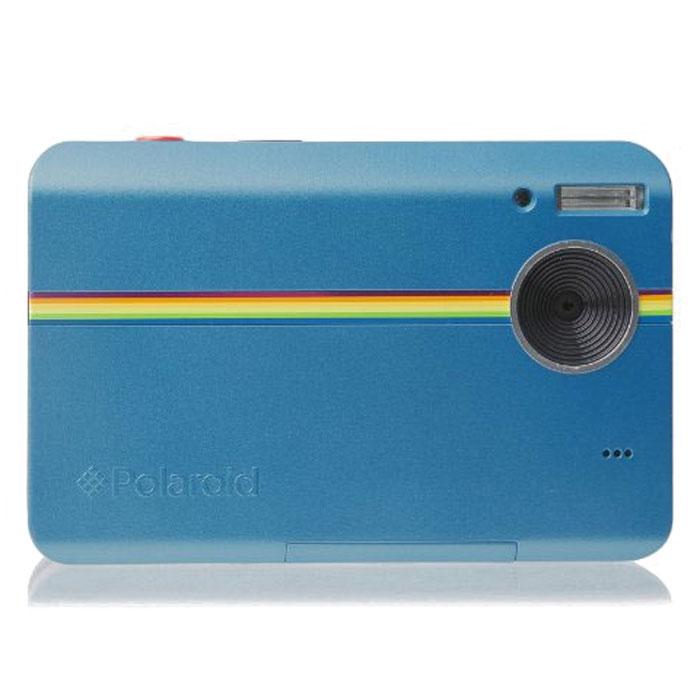 Polaroid Z2300, Blue моментальная фотокамераPOLZ2300BLРассматривайте ваши фотографии вживую сразу после снимка вместе с новой моментальной цифровой камерой Polaroid Z2300. Благодаря интегрированной в камере системе печати ZINK вы сможете печатать фотографии прямо на месте съемки. Всего менее чем за одну минуту вы и ваши друзья получите копии ваших фотографий без использования компьютера или принтера. Вы даже можете обрезать снимок перед тем, как пустить его в печать для того, чтобы получить изображение именно таким, каким захотите вы. Эта цифровая камера Полароид оборудована 3-дюймовым LCD дисплеем для удобного просмотра снимков. 10-мегапиксельная матрица гарантирует, что ваши снимки получатся такими же четкими и яркими, как в жизни. Цифровой зум 2.4x Моментальная печать фото 2х3 дюйма Время печати одного снимка 60 сек