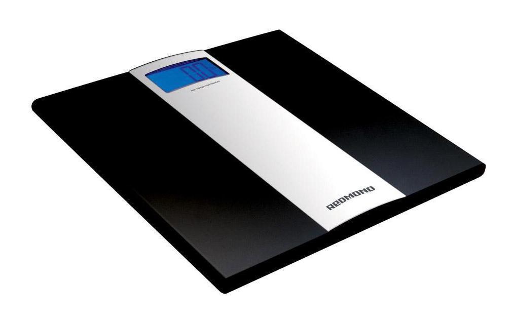 Redmond RS-710, Black напольные весыRS-710 BlackНапольные весы Redmond RS-710 выполнены из прочного пластика. Четыре высокочувствительных датчика обеспечивают высокий уровень точности с погрешностью измерения в 50 грамм, а индикатор перегрузки сообщит о превышении допустимой нагрузке на весы. Оснащены функцией автоматического включения/выключения. Нагрузка до 150 килограммов, большой дисплей с подсветкой.