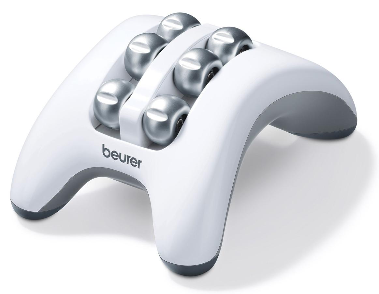 Массажер для ног Beurer FM161092039Массаж ступней помогает расслабиться, почувствовать прилив сил и получить удовольствие. Как известно на ступнях расположено множество нервных окончаний и биологически активных точек, связанных с организмом человека в целом. Вращающиеся от батареек ролики массажера Beurer FM 16 эффективно массируют ваши ноги, помогая снять накопившееся напряжение, раздражение, усталость. Компактные размеры массажера для ног Beurer FM 16 позволяют брать эту полезную вещь в любую дорогу. Отличительные особенности: Массажный ролик для расслабления стопы; Мягкий вибромассаж; Оптимален для использования дома, в офисе и в дороге; Маленький и удобный; Противоскользящие резиновые ножки.