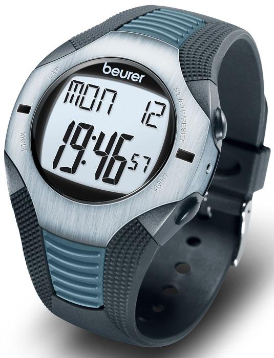 Пульсотахометр Beurer PM261092060Пульсометр Beurer PM26 обладает водонепроницаемыми свойствами, таким образом, допускается его использование при плавании. Однако запрещается нажимать кнопки под водой, будет нарушена герметичность прибора. Измерения под водой производиться не будут ввиду невозможности передачи сигнала. Данный пульсометр предназначен для измерения частоты сердечных сокращений при помощи нагрудного ремня. Пульсотахограф принимает сигналы пульса от находящегося на нагрудном ремне передатчика в радиусе 70 сантиметров. Нагрудный ремень состоит из двух частей: собственно нагрудного ремня и эластичной ленты. В середине прилегающей к телу внутренней стороны нагрудного ремня находятся два ребристых датчика. Оба сенсора измеряют частоту сердечных сокращений, по точности соответствующую ЭКГ, и передают эту информацию в пульсотахометр. Благодаря различным вариантам настройки Вы можете использовать Вашу индивидуальную программу тренировок и контролировать пульс. Помимо...