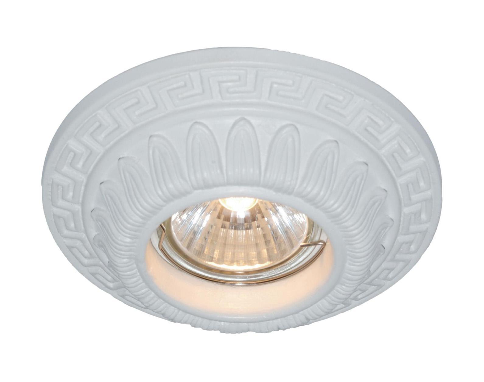 A5073PL-1WH CRATERE Встраиваемый светильникA5073PL-1WH1x50W; патроны GU10 и G5,3 в комплекте; Светильник можно красить Материал: Арматура: Гипс Размер: 120x120x40 Цвет: Белый
