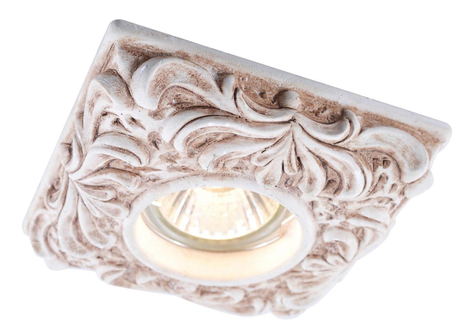 A5208PL-1WC PEZZI Встраиваемый светильникA5208PL-1WC1x50W; патроны GU10 и G5,3 в комплекте; Светильник можно красить