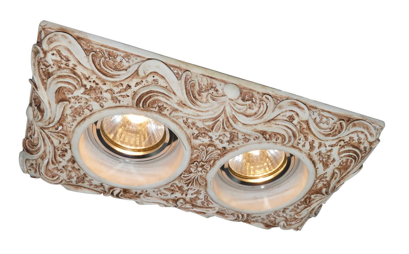 A5208PL-2WC PEZZI Встраиваемый светильникA5208PL-2WC2x50W; патроны в комплекте GU10 и G5.3; Светильник можно красить