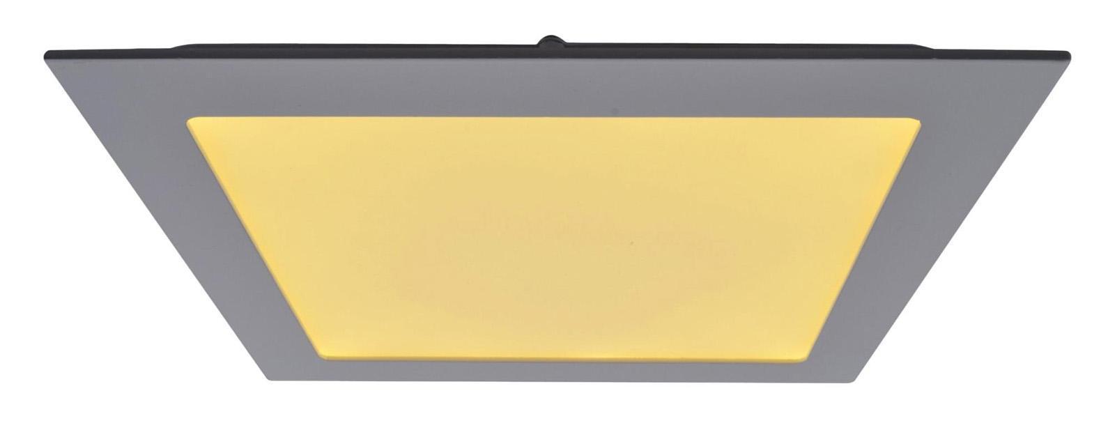 A2418PL-1WH FINE Встраиваемый светильникA2418PL-1WH18W LED; 1440 lm Материал: Арматура: Алюминий / Элемент декора: Пластик Размер: 225x225x25 Цвет: Белый