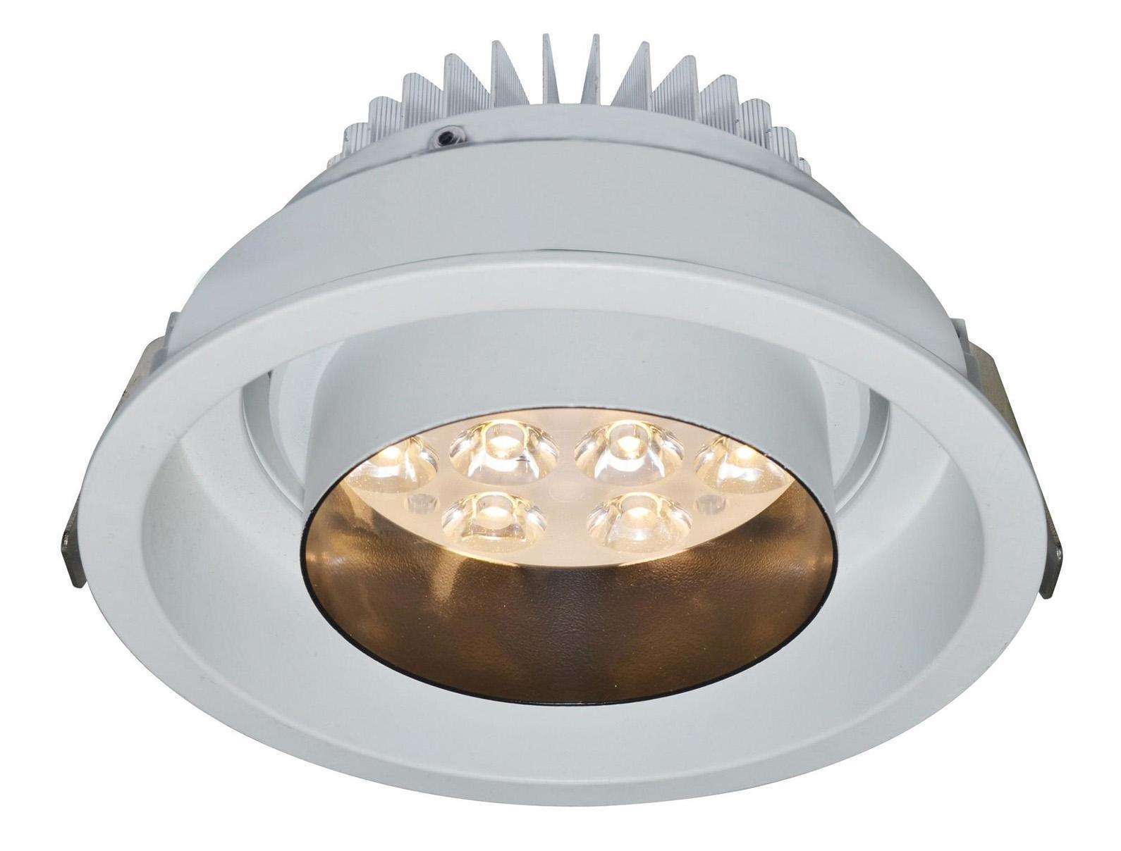 A2012PL-1WH MISSILE Встраиваемый светильникA2012PL-1WH12W LED; 840 lm