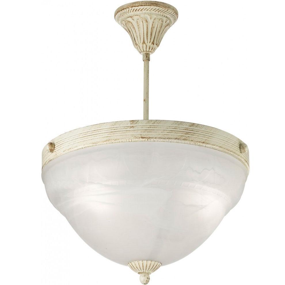 A8777PL-3WG VICTORIANA ПодвесA8777PL-3WGСветильник отличается оригинальным и стильным дизайном, который внесет особую атмосферу в ваш дом. Элегантная форма светильника подойдет для любого интерьера. 3xE14 40W Материал: Арматура: Металл / Плафон: Стекло алебастровое Цвет: Арматура: БЕЛО-ЗОЛОТОЙ / Плафон: Белый Размер: 40x37x37