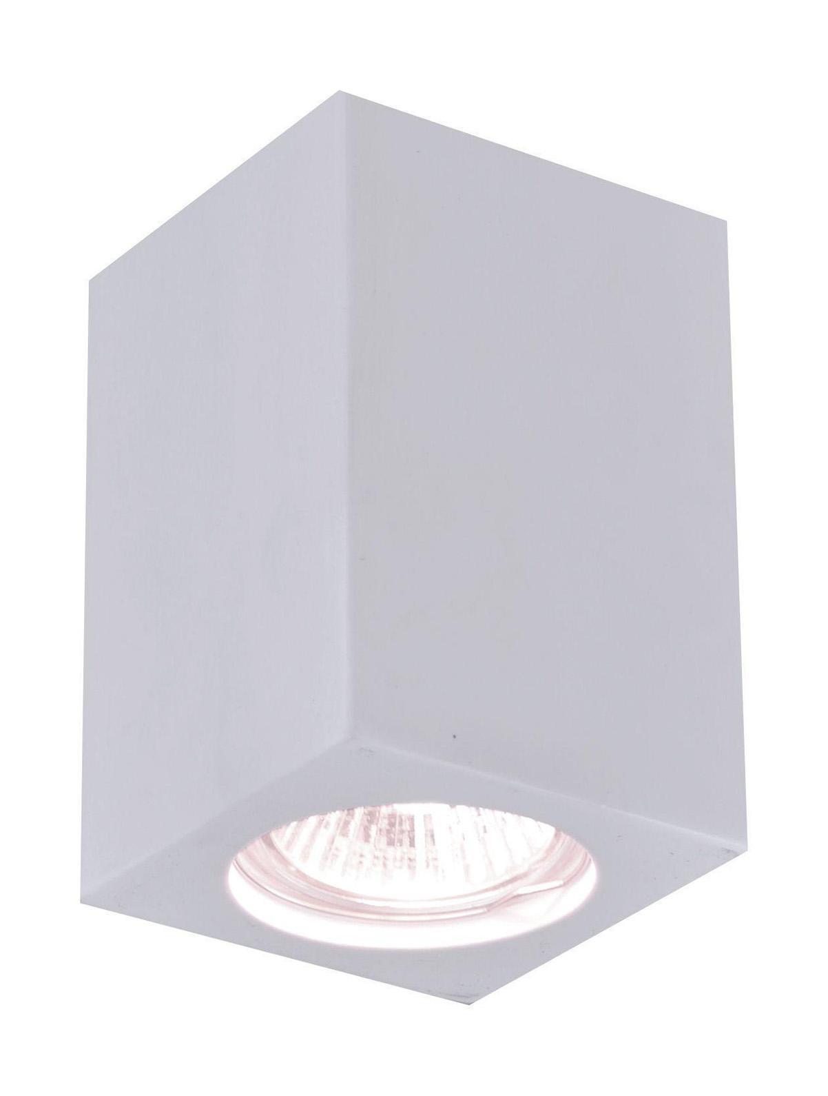 A9264PL-1WH TUBO Встраиваемый светильникA9264PL-1WH1xGU10x35W; Светильник можно красить