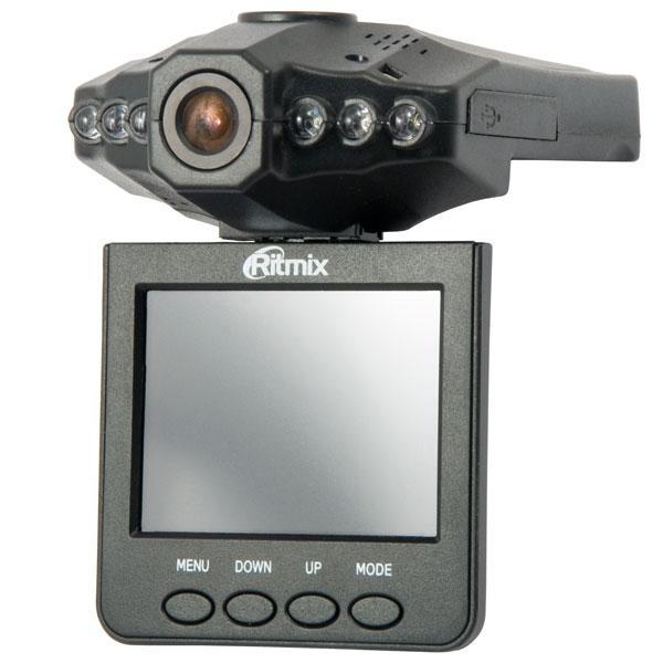 Ritmix AVR-330 видеорегистраторAVR-330Ritmix AVR-330 – это экономичный автомобильный видеорегистратор* с полным набором базовых функций (цветной TFT-дисплей, режим ночной съемки, встроенный аккумулятор). Максимальное разрешение видео 1280x960 достигается средствами интерполяции и обеспечивает возможность распознания автомобильного номера на расстоянии 1-3 м. Особенности AVR-330: поворотный дисплей (270°), функция цифрового увеличения (8x zoom), улучшенная функция ночной съемки (6 инфракрасных диодов), датчик движения, возможность отключения звука при видеозаписи. Датчик движения обеспечивает возможноcть мониторинга обстановки вблизи припаркованного автомобиля. Датчик срабатывает при обнаружении движущихся объектов в поле видимости камеры видеорегистратора и инициирует видеозапись, которая останавливается автоматически при отсутствии движения вблизи автомобиля.