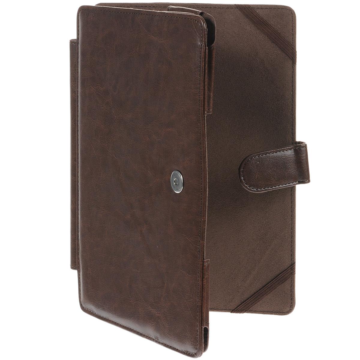 IT Baggage чехол с секцией для клавиатуры для Asus TF701/TF700, BrownITASTF704-2Чехол IT Baggage предназначен для планшетов ASUS Transformer TF701/TF700. Обложка хорошо защищает поверхность экрана от механического повреждения. Он предохранит ваш планшетный компьютер от царапин, жирных рук, пятен, которые бывает не всегда просто отмыть. Чехол весьма долговечен и практичен.