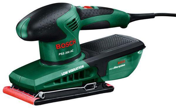 Шлифмашина Bosch PSS 200 AC (0603340120)