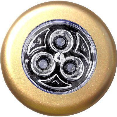 Ночник Ультра ЛАЙТ CZ-3(B) золотоCZ-3(B) золотоНочник Ультра ЛАЙТ CZ-3(B) золото Материал: пластик Цвет: золото Работает от 3 батареек типа ААА по 1,5В. Источник света: LED 0,5Вт Размер светильника: 7 см х 7 см х 1,8 см Размер упаковки:12 см х 2 см х 15см Гарантия: 1 год Изготовитель: Китай Артикул: CZ-3В