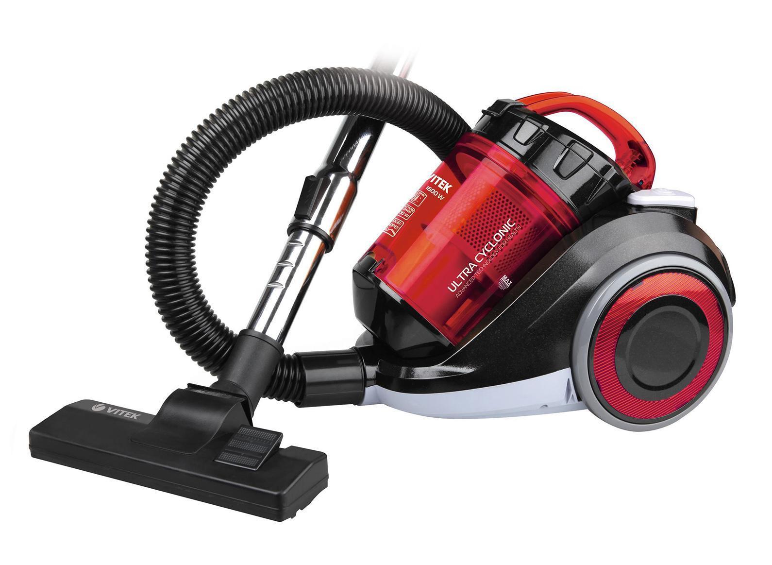 Vitek VT-1820, Red пылесос