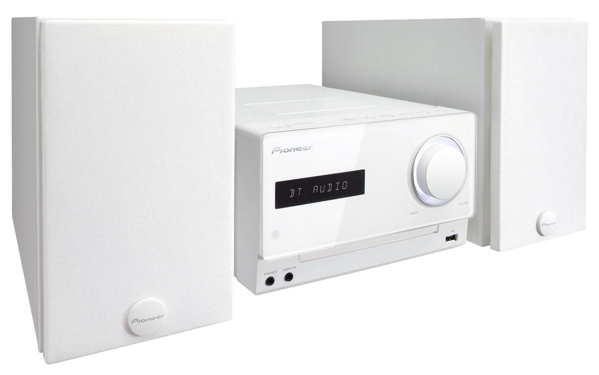 Pioneer X-CM42BT, White микросистема