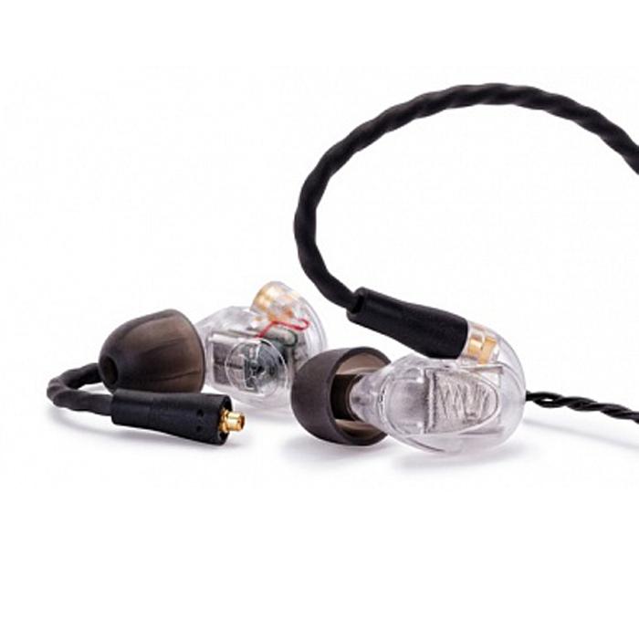 Westone UM PRO50, Clear наушники15117145Наушники Westone UM PRO 50 относятся к профессиональной серии UM американской ручной сборки. Это арматурные наушники с пятью излучателями, передающими звук на разных диапазонах частот от 20 Гц до 20 КГц. Такая конструкция обеспечивает исключительно детализированный натуралистичный звук на всём слышимом диапазоне. Имеют комфортные, звукоизолирующие амбушюры.