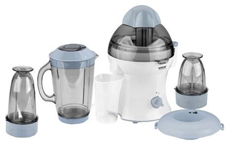 Vitesse VS-239VS-239Кухонный комбайн Vitesse VS-239 - это многофункциональный бытовой прибор, предназначенный для обработки различных продуктов. Кухонный комбайн сочетает в себе ряд универсальных функций: соковыжималка (для приготовления полезных соков), блендер (для приготовления молочных коктейлей, шейков, соусов), измельчитель (для овощей, фруктов и мяса), мельница для сухих продуктов (орехов, специй, кофе). Система блокировки Два режима скорости Мощный бесшумный мотор Режущие ножи из высококачественной стали Ножки с нескользящим покрытием Легко эксплуатировать и чистить Вся продукция торговой марки Vitesse разработана высококлассными профессионалами. В производстве используются только современные экологически чистые материалы и профессиональные технологии.