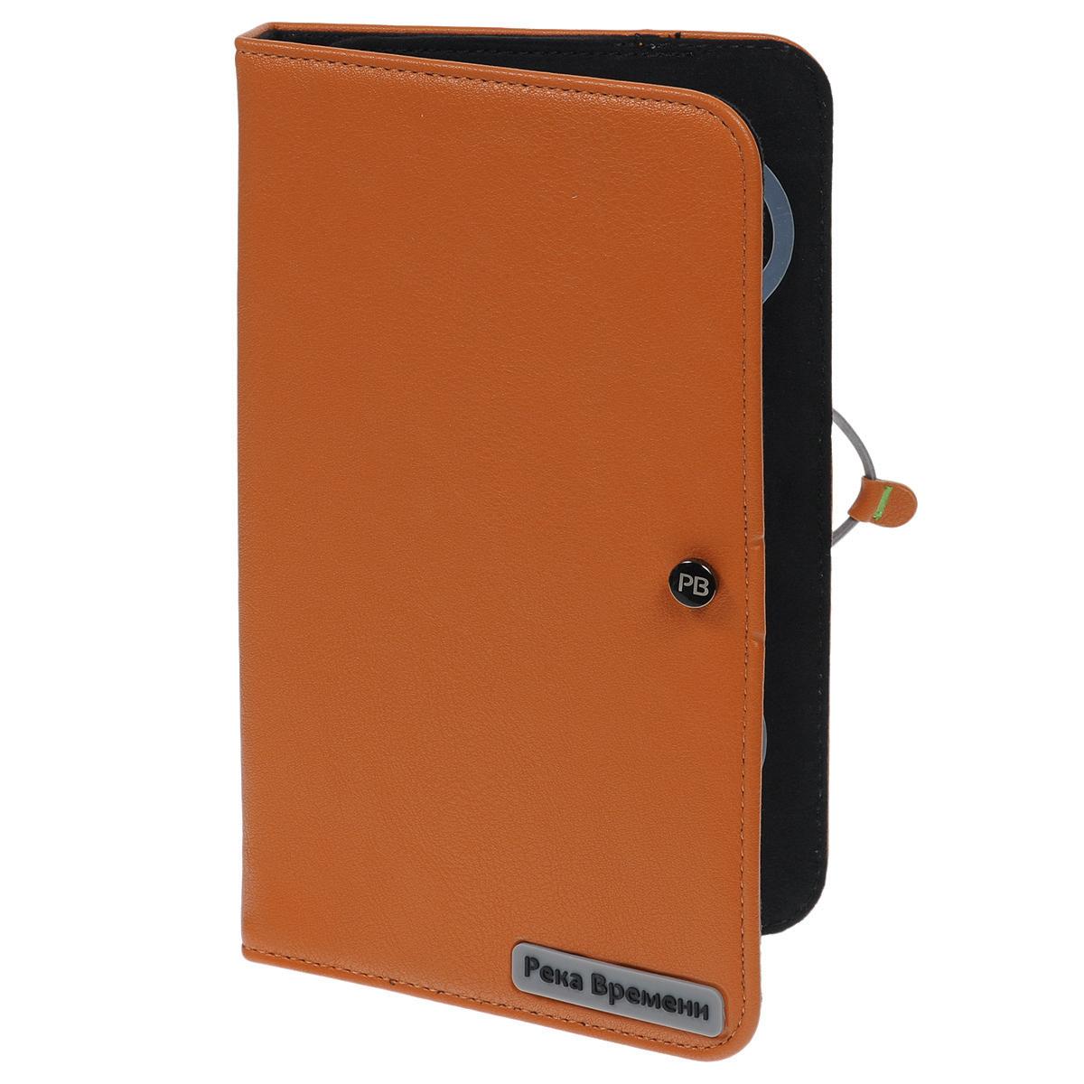 Vivacase Река Времени универсальный чехол-обложка для 7+, Orange (VRV-CCL07P-or)VRV-CCL07P-orЧехол предназначен для защиты электронных устройств от механических повреждений и влаги. Крепление позволяет надежно зафиксировать устройство.