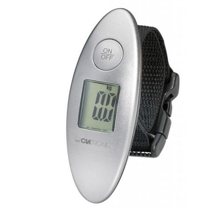 Clatronic GW 3549 безмен электронныйGW 3549электронные ручные весы Clatronic GW 3549 для измерения веса багажа/сумки. Имеет сверхпрочное крепление. Диапазон измерение веса от 1 до 40 кг. Оснащен удобным ЖК дисплеем. Имеет функцию автоотключения.