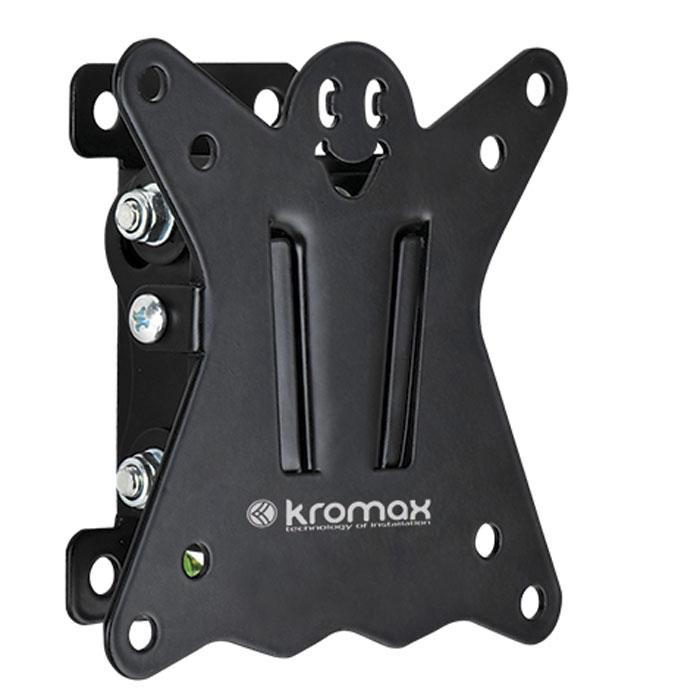 Kromax Casper-101, Black настенный кронштейн для ТВCASPER-101Оригинальный наклонный кронштейн Kromax Casper-101 идеально подходит для всех LED/LCD телевизоров с диагональю экрана от 10 до 26 дюймов.