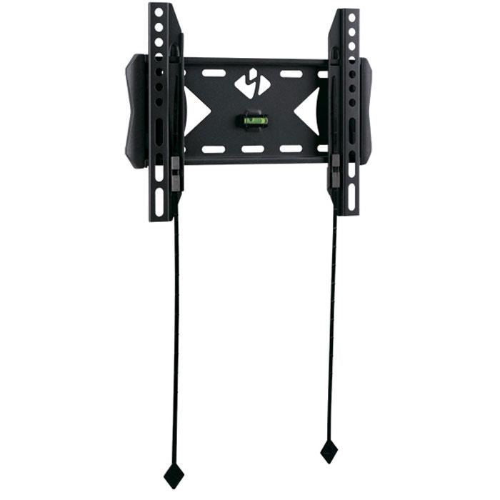 Kromax Flat-5, Grey настенный кронштейн для ТВFLAT-5Фиксированный кронштейн Kromax Flat-5 для LED телевизоров и плазменных панелей. Встроенный водяной уровень. С помощью технологии TechLock, Вы легко сможете снять ТВ с кронштейна вместе с направляющими.