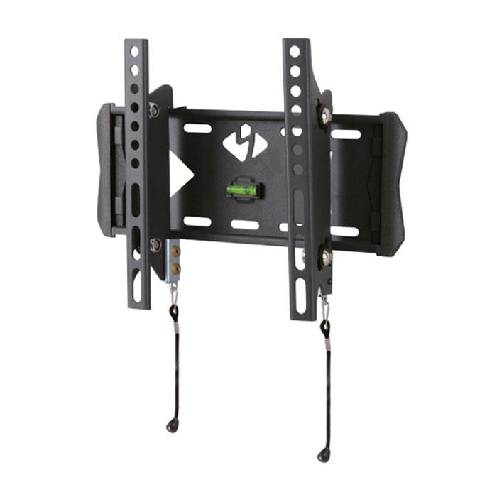 Kromax Flat-6, Grey настенный кронштейн для ТВFLAT-6Кронштейн Kromax Flat-6 является элегантным дополнение к Вашему современному плоскому телевизору. Позволяет разместить его на минимальном расстоянии от стены (66 мм), при этом создать угол наклона до 15°, что даёт возможность устранить блики на экране и обеспечить комфорт и удобство при просмотре. Быстрый и легкий монтаж Встроенный водяной уровень гарантирует идеально ровное закрепление на стене Благодаря уникальной технологии TechLock, реализованной в модели FLAT-6, телевизор легко снимается с кронштейна вместе с направляющими Надёжный фиксирующий механизм исключает падение Соответствует стандарту VESA