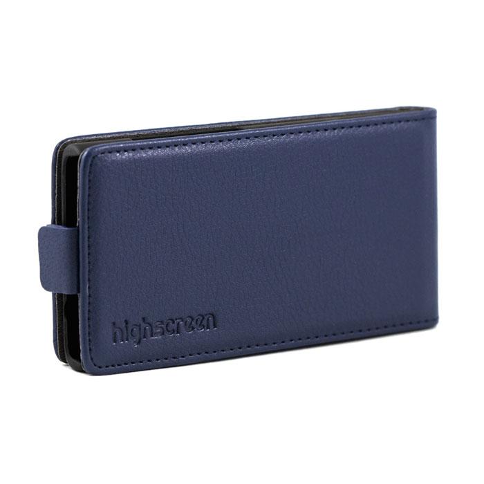 Highscreen Flip Case чехол для Zera F rev.S, Blue22394Чехол с откидной крышкой Highscreen Flip Case для Zera F rev.S надежно защищает ваш смартфон от внешних воздействий, грязи, пыли, брызг. Он также поможет при ударах и падениях, не позволив образоваться на корпусе царапинам и потертостям. Чехол обеспечивает свободный доступ ко всем функциональным кнопкам смартфона и камере.