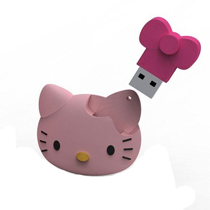 Iconik Hello Kitty Face 8GB USB-накопительRB-HKF-8GBФлеш-накопитель Iconik Hello Kitty Face имеет весьма нестандартный дизайн. Накопитель ударопрочный и защищен резиновым корпусом, а высокая пропускная способность и поддержка различных операционных систем делают его незаменимым. Iconik Hello Kitty Face - отличный выбор современного творческого человека, который любит яркие и нестандартные вещи.