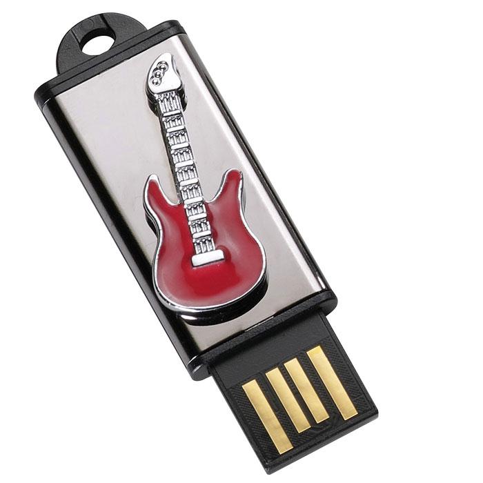Iconik Гитара 8GB, Red USB-накопительMT-GUITARR-8GBФлеш-накопитель Iconik Гитара имеет весьма нестандартный дизайн. Накопитель имеет пластиковый ударопрочный корпус со стальной декоративной панелью, а высокая пропускная способность и поддержка различных операционных систем делают его незаменимым. Iconik Гитара - отличный выбор современного творческого человека, который любит яркие и нестандартные вещи.