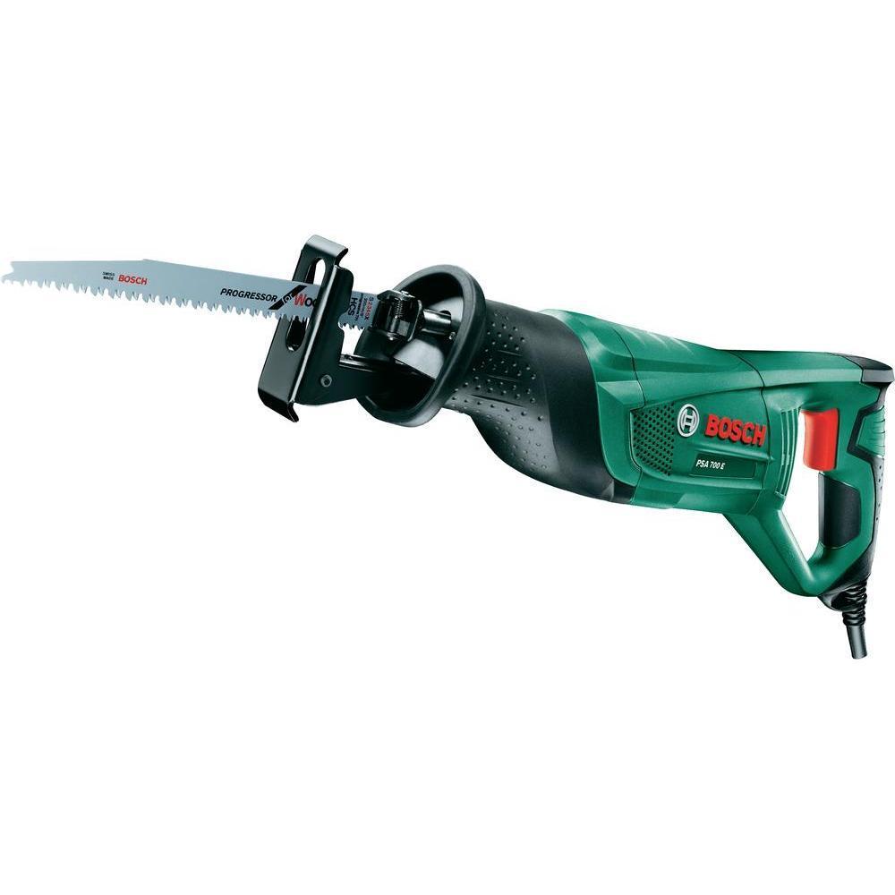 Пила сабельная Bosch PSA 700 E (06033A7020)Psa 700 eРаспилят и отрежут любой материал: по древесине, металлу или из гибкого биметалла — к PSA 700 E подходят любые стандартные полотна