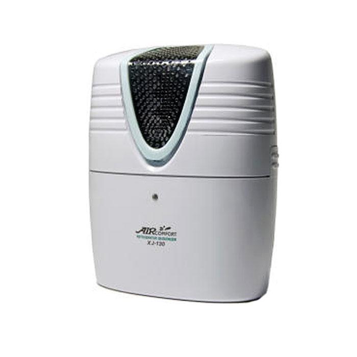 AirComfort XJ-130 воздухоочиститель-ионизатор00000000059Очиститель ионизатор воздуха AirComfort XJ-130: Мощный стерилизатор: Мгновенно наполняет ваш холодильник активным кислородом (озоном), истребляет 90% бактерий, грибков и плесени от пищевых продуктов и овощей. Устраняет дурные и неприятные запахи: Озон способен быстро разрушать дурные и неприятные запахи в холодильнике, предотвращая заражение ими свежих продуктов. Разрушение пестицидов: Озон эффективно окисляет и разрушает ядовитые пестициды на поверхности пищевых продуктов и овощей. Поддержание свежести: Озон замедляет процесс порчи фруктов и овощей. Стерилизация и устранение запахов продлевают срок годности пищевых продуктов. Питание: 3 батареи типа D (не прилагаются). Выработка активного кислорода: 0,12 промилле