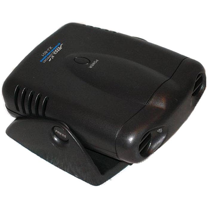AirComfort XJ-801, Black воздухоочиститель-ионизатор00000000067Автомобильный воздухоочиститель AirComfort XJ-801 с генератором анионов, использующий принцип ионного ветра, мгновенно вырабатывает полезные для здоровья человека отрицательные ионы кислорода и постоянно наполняет салон Вашего автомобиля чистым и свежим воздухом. Используется современная технология ионного ветра Простой в использовании не требует замены фильтров Имитирует автомобильную охрану Датчик движения автоматически включает и выключает очиститель воздуха Простая установка в автомобиль при помощи регулируемого основания Нейтрализует запахи и освежает воздух Питание: 4 батарейки типа АА