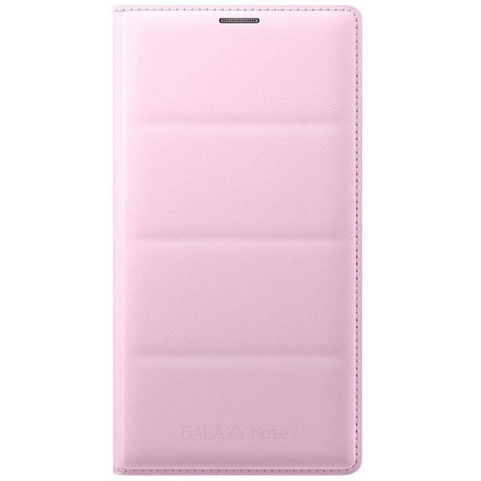 Samsung EF-WN910 Flip Wallet чехол для Galaxy Note 4 N9100, PinkEF-WN910BPEGRUПередняя крышка чехла Samsung EF-WN910 для Galaxy Note 4 N9100 откидывается влево, на внутренней части находятся кармашки для банковских карт или визиток. Обеспечивается практически полная защита аппарата, открыты лишь торцы. В какой-то степени эта модель способна уберечь смартфон даже при падении с высоты на твердую поверхность. Устанавливается вместо штатной задней панели.
