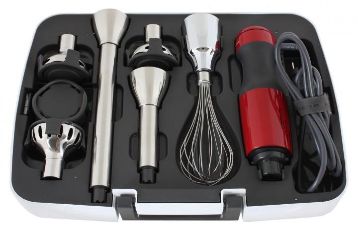 KitchenAid 5KHB2571EER, Red погружной блендер