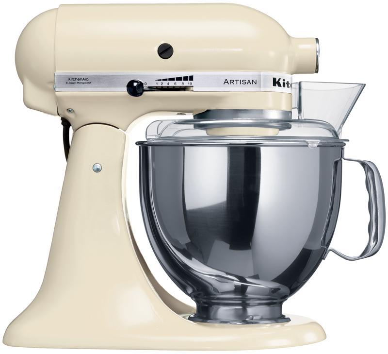 KitchenAid Artisan (5KSM150PSEAC), Cream миксер планетарныйArtisan 5KSM150PSE кремовый