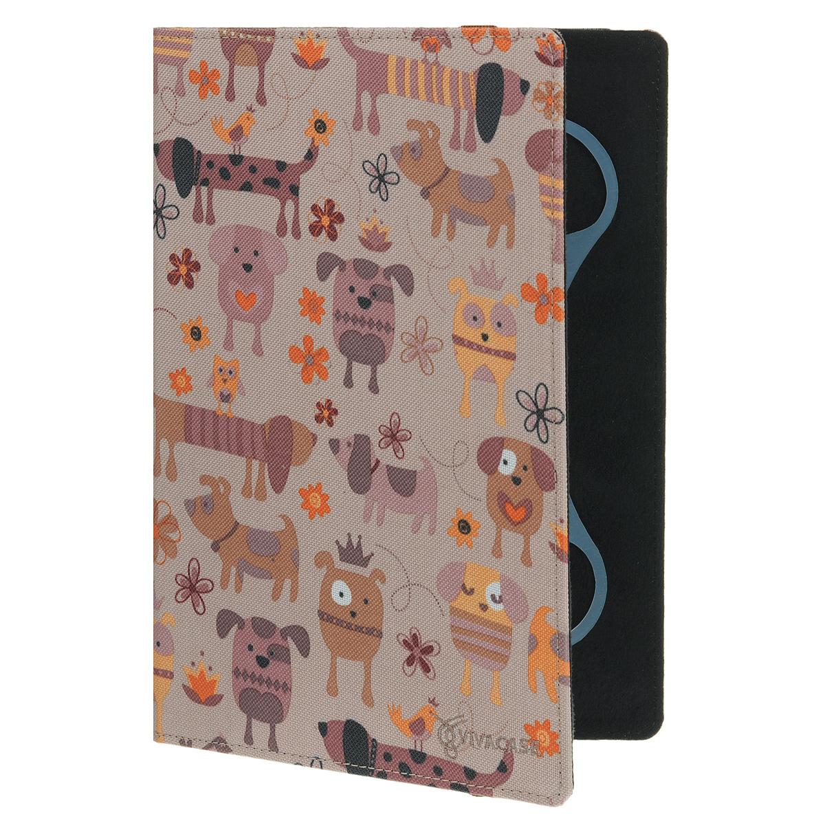 Vivacase Doggy чехол для планшетов 10 (VUC-CDG10)VUC-CDG10Чехол Viva Doggy для планшетов с диагональю 10 предназначен для защиты электронных устройств от механических повреждений и влаги. Крепление EVS позволяет надежно зафиксировать устройство.
