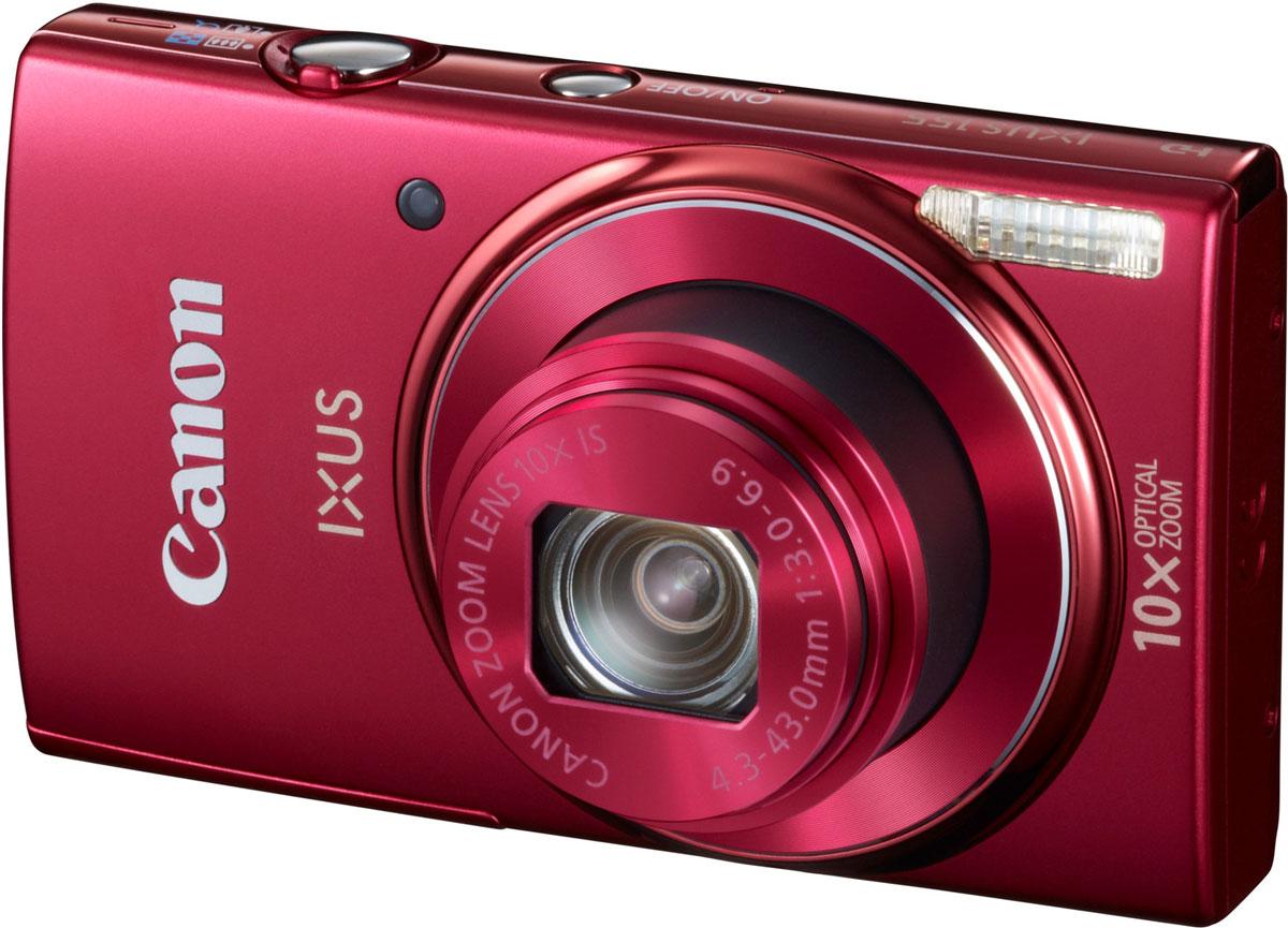 Canon IXUS 155, Red цифровая фотокамера9357B001Со стильной фотокамерой Canon IXUS 155 вы не упустите ни единой детали, как бы далеко ни находился объект съемки. Камера со сверхширокоугольным объективом обеспечивает разрешение 20 мегапикселей и 10-кратный оптический зум. Режим Smart Auto и система интеллектуальной стабилизации изображения гарантируют безупречные результаты каждый раз, когда вы делаете снимок. 20-мегапиксельный датчик: Стильная, элегантная и достаточно компактная, чтобы брать ее куда угодно, камера IXUS 155 обеспечивает изображения превосходного качества с высоким разрешением и детализацией, которые идеально подходят для крупноформатных отпечатков (A3+) или творческого кадрирования, благодаря 20-мегапиксельному датчику и мощному процессору DIGIC 4+, позволяющим повысить скорость, производительность и функциональность камеры и быстро получить безупречные результаты. Съемка с близкого расстояния с максимальным охватом кадра: Создавайте панорамные пейзажи и групповые...