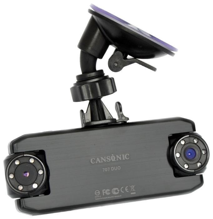 Cansonic FDV 707 Duo видеорегистратор707 DuoМодель CANSONIC 707 DUO является обновлением модели CANSONIC FDV-707 Light. В обновленную прошивку этого поколения было внесено более 30 улучшений, исправлений и оптимизаций, что позволяет использовать видеорегистратор даже в условиях нестабильного электропитания. Аппаратная часть видеорегистратора получила CMOS-матрицу нового поколения, которая в сочетании со встроенным программным обеспечением устройства обеспечивает отличную контрастность и четкость видео и фотозаписи, в том числе при резком изменении освещенности. CASONIC 707 DUO – надежный и функциональный видеорегистратор, оборудованный двумя поворотными камерами. Разработан на новейшей аппаратной платформе CANSONIC OS1 (System-on-a-Chip). Широкоугольный объектив первой камеры предназначен для видеосъемки общей дорожной обстановки, вторая, благодаря использованию телеобъектива позволяет зафиксировать автомобильные номерные знаки на расстоянии до 30 метров. Оба объектива CANSONIC оснащены стеклянной...