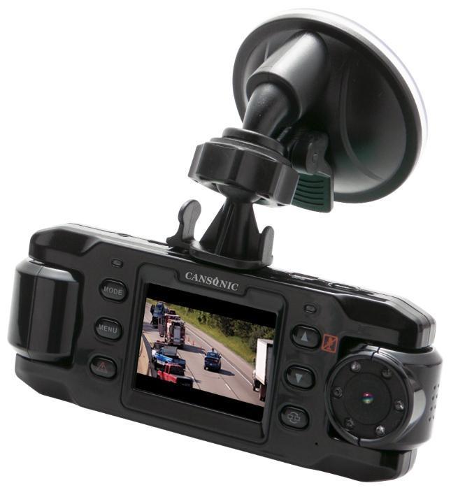 Cansonic FDV 700 Duo видеорегистратор700 DuoCANSONIC 700 DUO – надежный и функциональный видеорегистратор, оборудованный двумя поворотными видеокамерами.